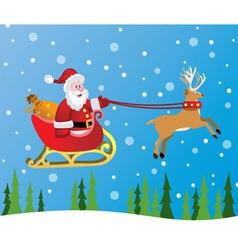 christmas holiday vector image