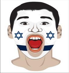 Go Israel vector image vector image