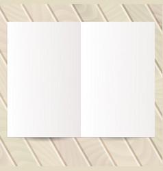 Identity design templates blank white paper flyer vector