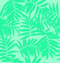 leaf seamless pattern vector image