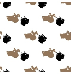 Dog Cat Seamless Animal Pattern vector image