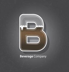 Beverage company logo vector