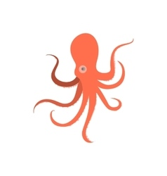 Cartoon octopus monster of octopus vector