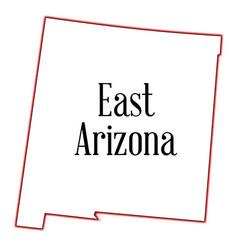 East arizona vector