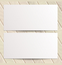 identity design templates blank white paper flyer vector image