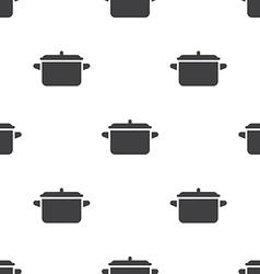 pot seamless pattern vector image