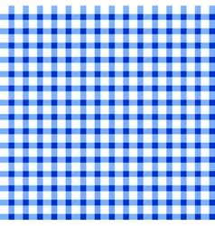 Seamless retro white-blue square tablecloth vector image vector image