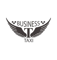 Taxi logo badge vector image