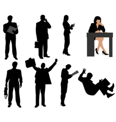 Business persons vector