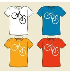 T-shirt print vector