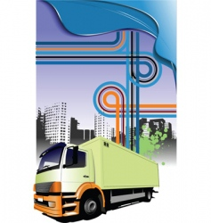 Lorry and junction vector