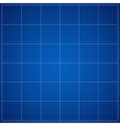 Blue blueprint background vector