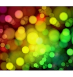 Magical background with night bokeh vector