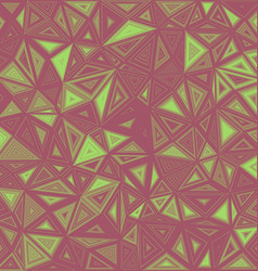 Abstract triangle mosaic tile background vector
