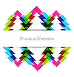 Colorful christmas background vector