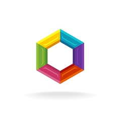 Hex logo vector