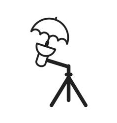 Umbrella Stand vector image