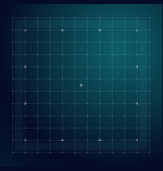grid for futuristic hud interface line technology vector image vector image