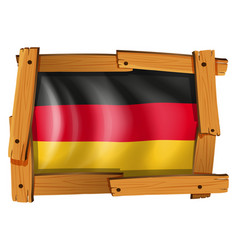 Icon design for germany flag vector