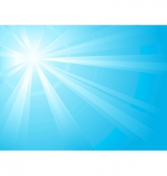 light burst vector image vector image