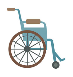 Trauma accident wheelchair safety vector