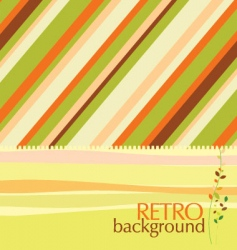 retro design background vector image