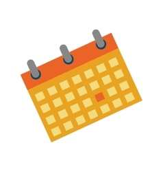 Calendar event date vector image vector image