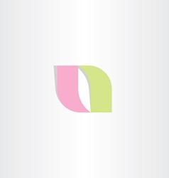 logotype a logo letter a symbol icon vector image