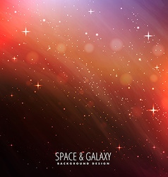 Night sky universe background vector