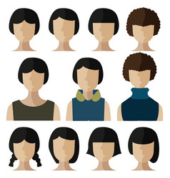 People flat icon vector