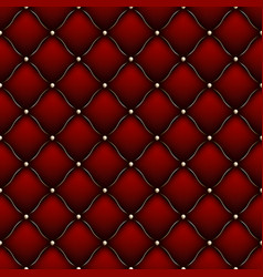 soft gloss seamless quilted pattern eps 10 vector image vector image