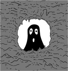surprised creature vector image