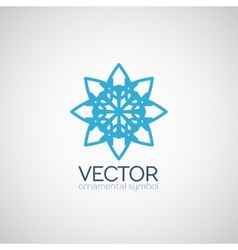Ornamental symbol vector