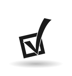 Vote design over white background vector