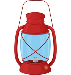 Camp lantern vector