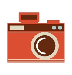 camera photo shutter vintage vector image