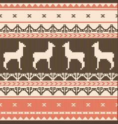 folk ornamental pattern vector image vector image