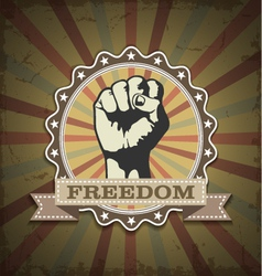 Symbol protest vector