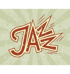 Jazz flyer vector