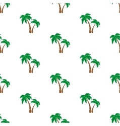 Palm trees pattern vector image vector image