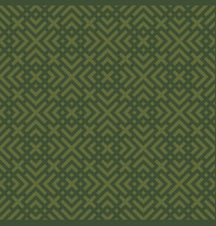 green geometric seamless pattern vector image vector image