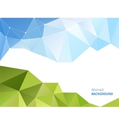 Abstract polygonal background vector