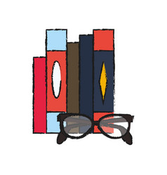 books icon image vector image vector image