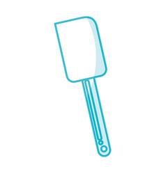 Shadow silicone spatula graphic design vector