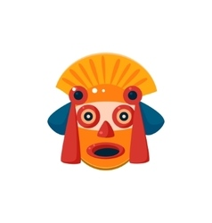 Traditional mayan mask vector