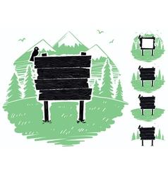 Mountain Sign vector image