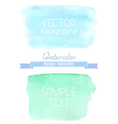Abstract hand-drawn watercolor backgrounds vector