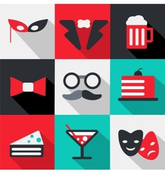 Celebration icon vector