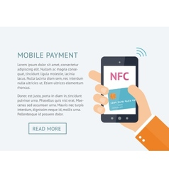 Online payment concept vector