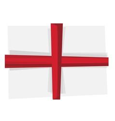 Flag of England vector image